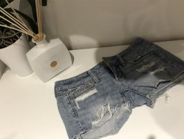 American Eagle Outfitters Short en jean bleu