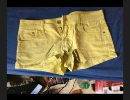 Pimkie Pantaloncino di jeans giallo pallido