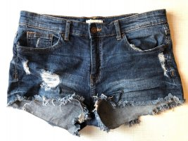Jeansshort used Look