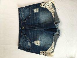 Takko Pantaloncino di jeans blu