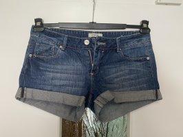Denim Co. Pantaloncino di jeans blu acciaio