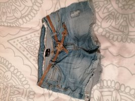 Crash one Denim Shorts blue