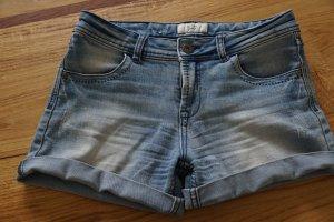 Nümph Shorts neon blue cotton