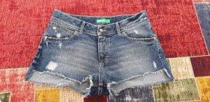 Benetton Denim Shorts blue
