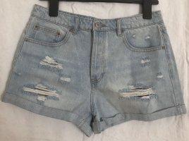 Forever 21 Jeansowe szorty Wielokolorowy