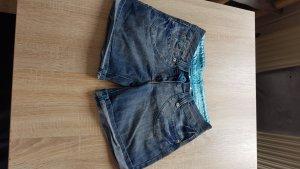 Clockhouse Short en jean bleu