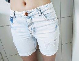Jeansshorts im Used Look von Vero Moda in Blue