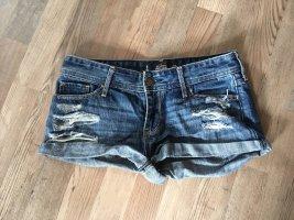 Jeansshorts kurze Hose von Hollister in blau Größe 26