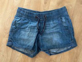 Jeansshorts mit Band Gr S