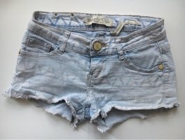 Jeansshorts Muster |Gr. XS/S