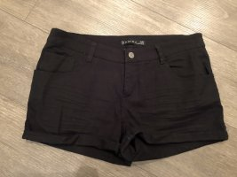Jeansshorts schwarz