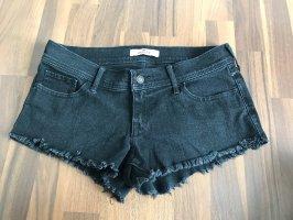 Jeansshorts schwarz W29 36-38 Hollister