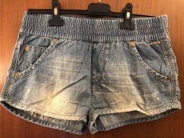 BlendShe Denim Shorts azure-light blue