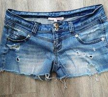 Jeansshorts von Tally Weijl M = 38 hellblau