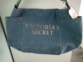 Victoria's Secret Bolso de tela gris pizarra