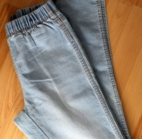Jeggings, hellblau