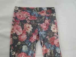 Jeggings mit Blumenprint