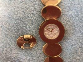 Jennifer Lopez Montre avec bracelet métallique doré