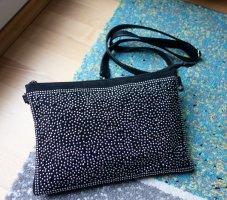 Jenny Fairy Tasche Handtasche mit Nieten und Strass schwarz NEU