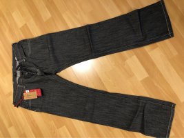 Armani Jeans Jeans taille basse gris