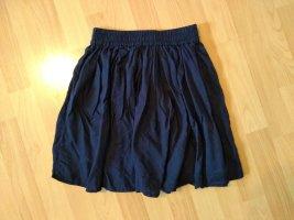 America Today Falda de talle alto azul oscuro
