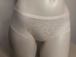 Jessica Simpson Slip Größe M 38 40 Glanz Satin Panty Brazilian beige Unterhose Nylon