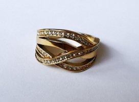 Jette Złoty pierścionek złoto