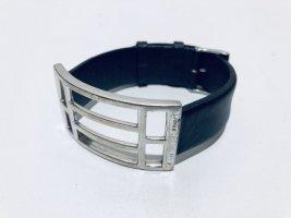 Jette Joop Armband 925er Silber und Leder