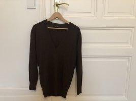 JetteJoop Pullover braun Casual-Look