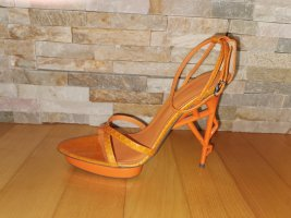 JIL SANDER High Heel Sandale Gr. 38,5