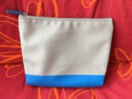 Jil Sander Kosmetik Tasche blau grau