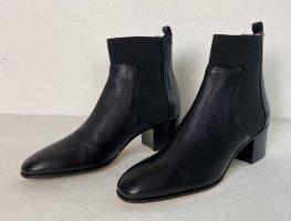 Jimmy Choo, Hallow Ankle Boots, Leder, Schwarz, 40, neu, € 800,-