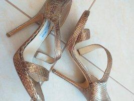 Jimmy Choo High Heels gold-colored