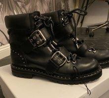 Jimmy Choo Leder boots mit Nieten