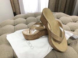 Jimmy Choo Paque 70 Sandalen NEU Premium