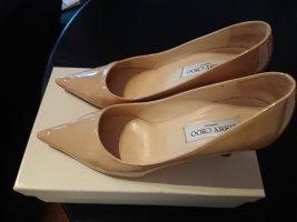 Jimmy Choo Classic Court Shoe cream leather