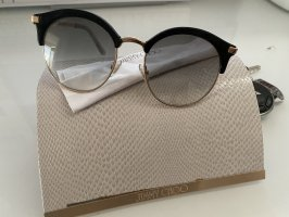 Jimmy Choo Glasses black-gold-colored