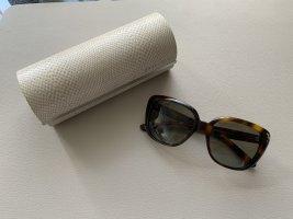 Jimmy Choo Angular Shaped Sunglasses bronze-colored