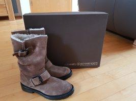 Kennel und Schmenger Botines marrón grisáceo Cuero