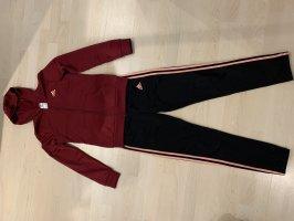 Adidas pantalonera burdeos-albaricoque