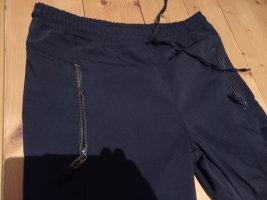 Blue Fire Boyfriend Trousers black mixture fibre