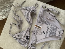 John Galliano Bikini veelkleurig