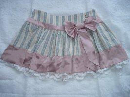 John Galliano Miniskirt multicolored