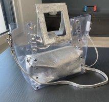 Jones Tasche transparent silber