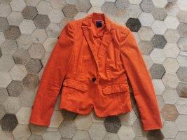 Joop! Blazer Jacke orange Baumwolle Gr. 34
