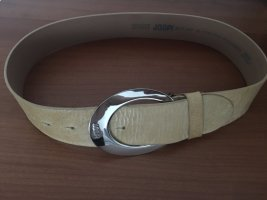 Joop! Leather Belt sand brown leather