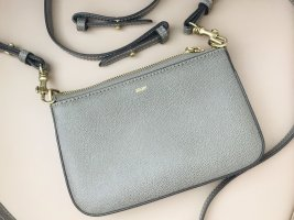 Joop kompakte Leder- Handtasche in braun