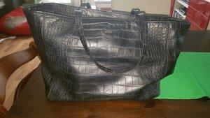 JOOP Leder tasche in Schwarz