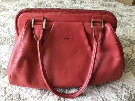 JOOP! Original Leder Handtasche ,Farbe Himbeere ,Neuwertig ,
