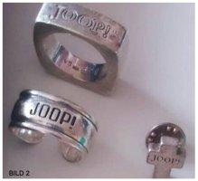 Joop! Schmuck Konvolut Silber Gestempelt Ringe Armband Uhr Anstecker Pin
